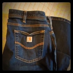 Carhartt womens work jeans